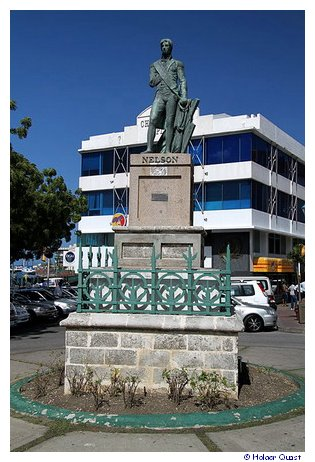 Lord Nelson - National Heroes Square - Bridgetown - Barbados