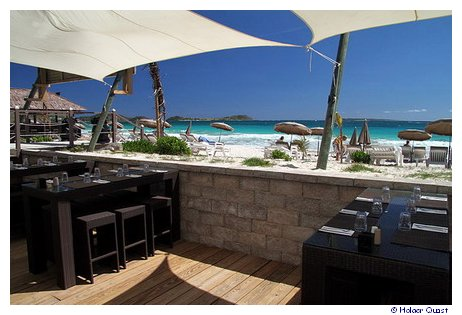 Palm Beach Restaurant - Orient Beach - Saint Martin - St Maarten
