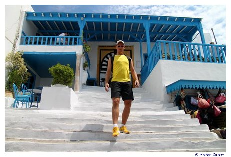 Holger in Sidi Bou Said