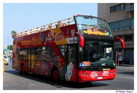 City Sightseeing Bus Palermo