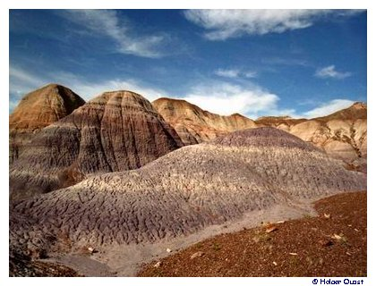 Blue Mesa, Petrified Forest