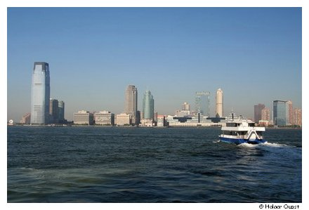 Bilck von Manhattan nach Jersey City
