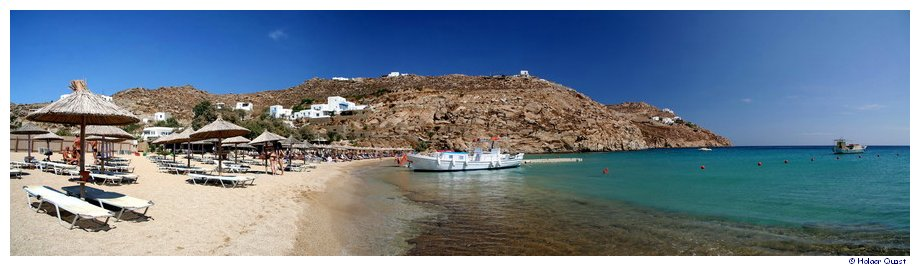 Super Paradise Beach - Mykonos - Panorama